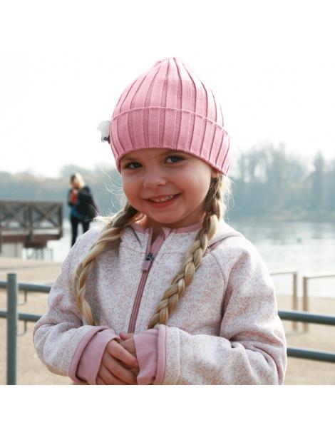 dziana czapka,czapeczka dla dziewczynki na wiosnę-pupill