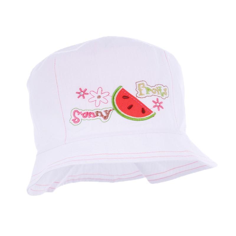 czapka czapeczka lato dziewczynka-pupill