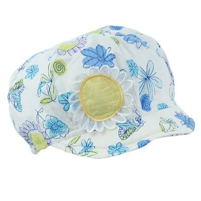 czapka czapeczka beret kaszkiet daszek kwiaty słońce-Pupill