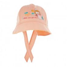 czapka czapeczka kapelusik syrenka haft dziewczynka lato ochrona głowy różowy pomarańczowy żółty Pupill