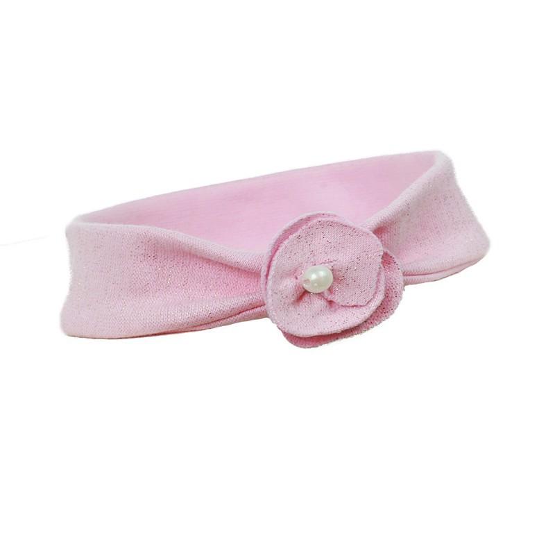 opaska,kwiatek,perła,perełka nakrycie uszu pupill