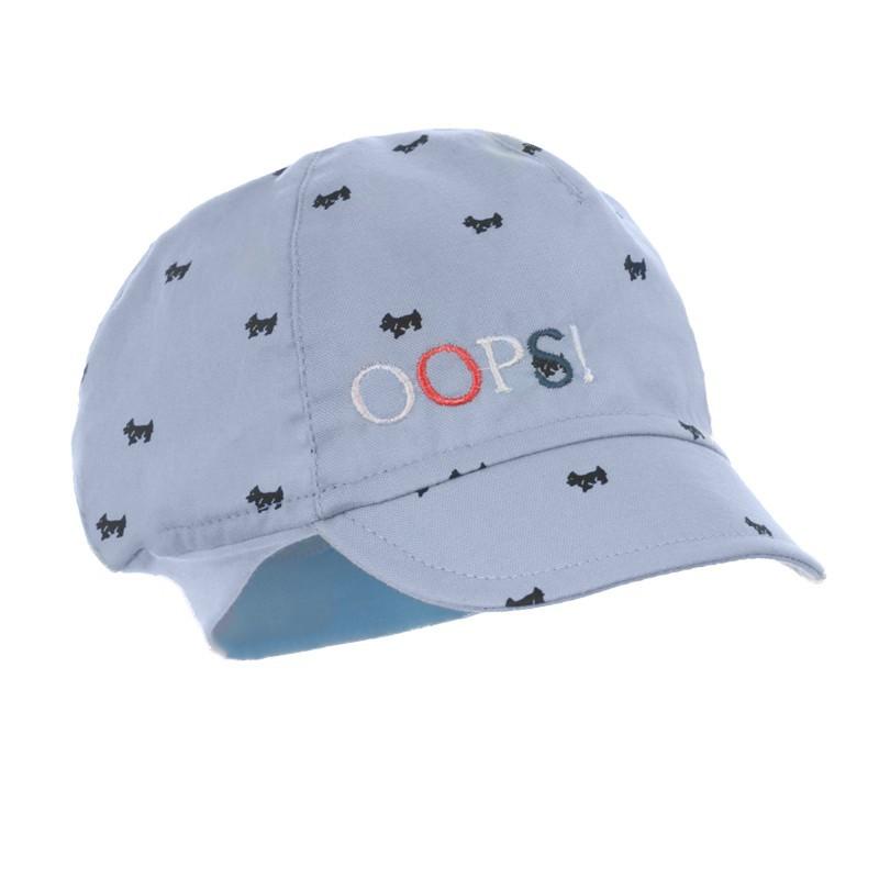 czapka czapeczka daszek chłopiec ściągacz lato pupill