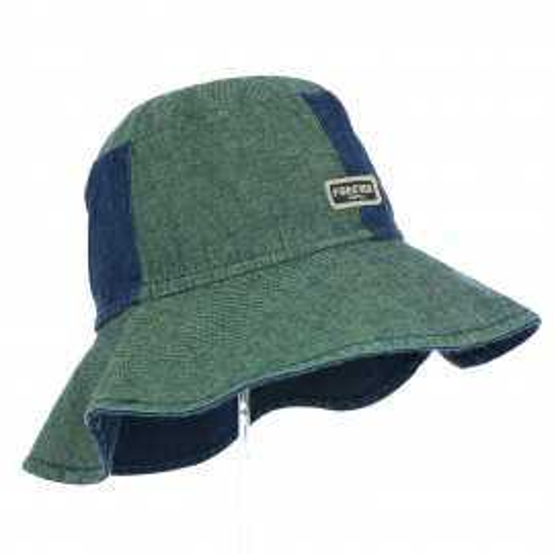czapka kapelusz dla dziewczynki na lato duże rondo ochrona głowy pupill