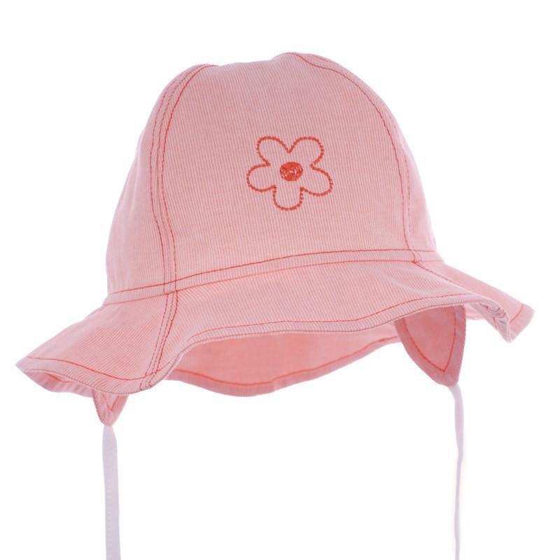czapka KAPELUSZ kwiatek