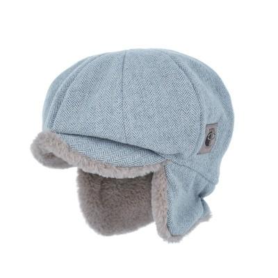 czapka czapeczka dla chłopca na zimę-pupill