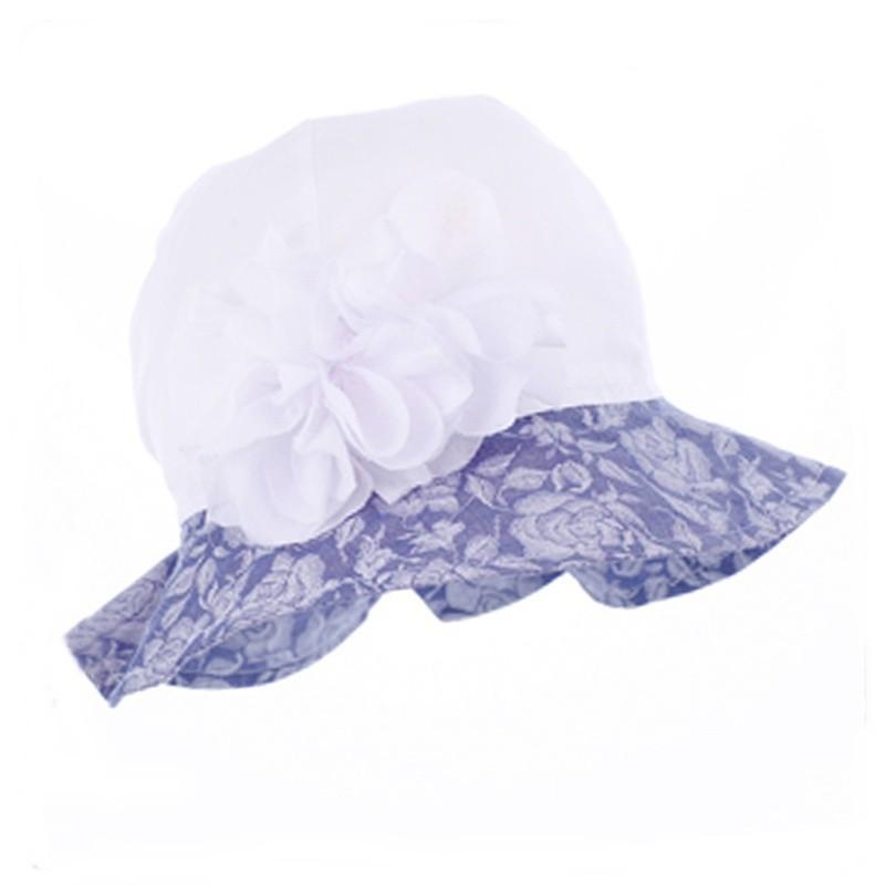 czapka,czapeczka kapelusz dla dziewczynki na lato-pupill
