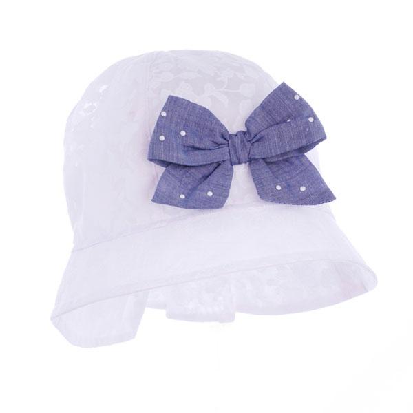 czapka czapeczka kapelusz kokarda dziewczynka  lato-pupill