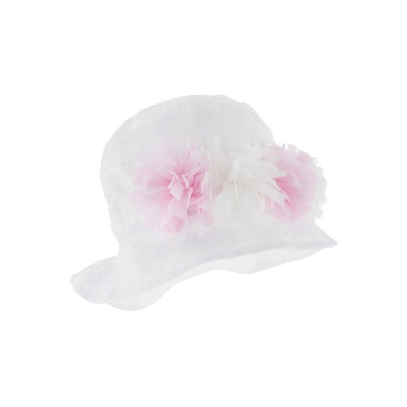 kapelusz,czapka czapeczka dla dziewczynki na lato z opaską-pupill