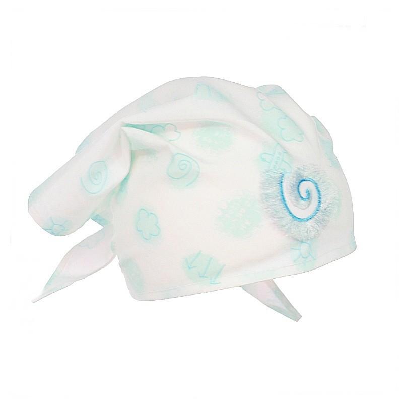 chustka czapka ochrona głowy dla dziewczynki na lato