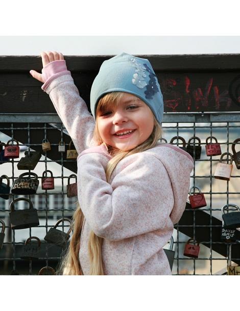 czapka czapeczka dla dziewczynki na wiosnę-pupill
