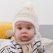 Dziana czapka czapeczka,pompon dla chłopca,dziewczynki na zimę-Pupill