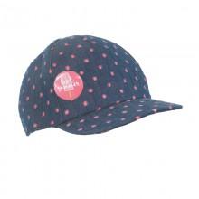 czapka czapeczka kropki daszek broszka przypinka badzik wiosna lato pupill
